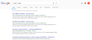 Captura búsqueda google mileroticos